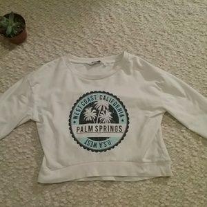 Super cut crop palm springs shirt.